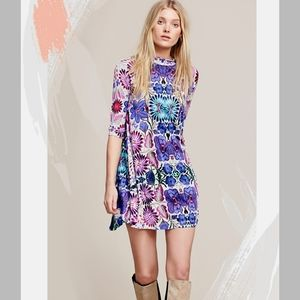 FREE PEOPLE  Fiesta Floral Dress Size